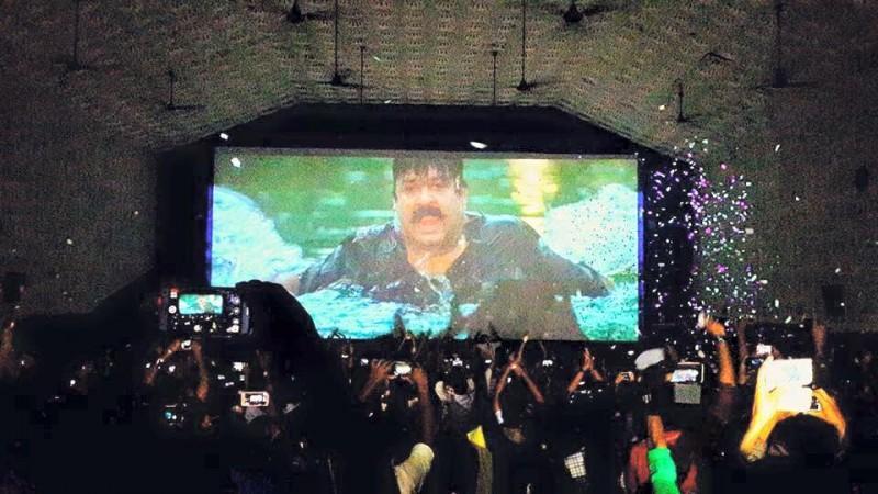 Narasimham re-released in Kerala