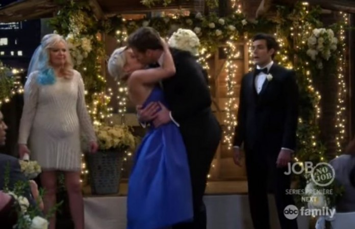 Danny and Riley in Baby Daddy Season 4 finale