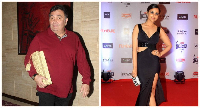 Rishi Kapoor and Parineeti Chopra