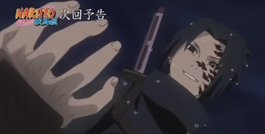 Sasuke has travelled to meet Orochimaru and train under him