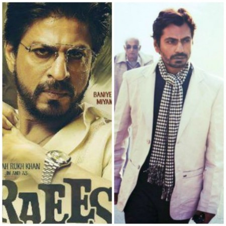 Nawazuddin Siddiqui shares screen space with Shah Rukh Khan in 'Raees'