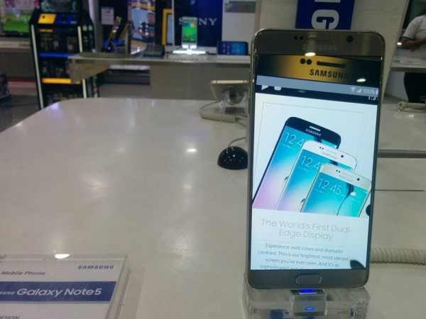 Samsung Galaxy Note 5 with Android 6.0.1 Marshmallow leaked online
