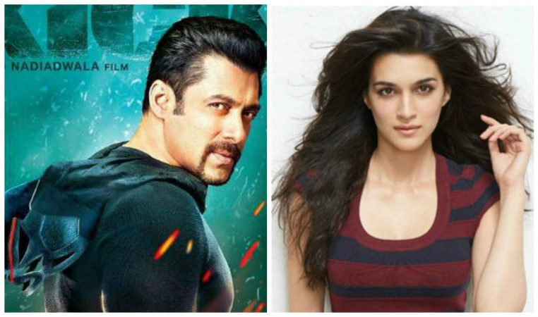 Salman Khan and Kriti Sanon