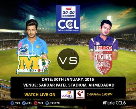 Mumbai Heroes vs Bengal Tigers