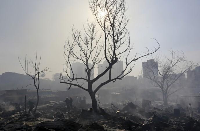 Mumbai smog