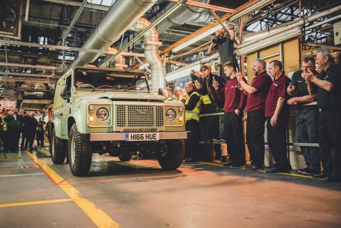 Land Rover Defender Final edition