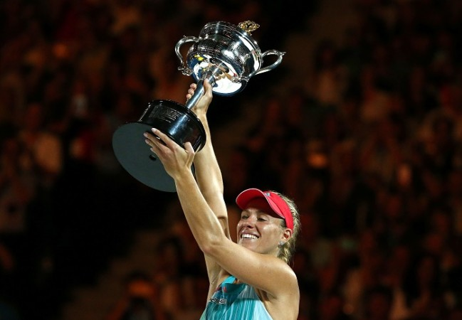 Angelique Kerber Australian Open 2016 final