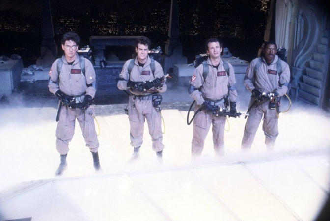 Several movies, including Ghostbusters, will be getting a reboot this year.