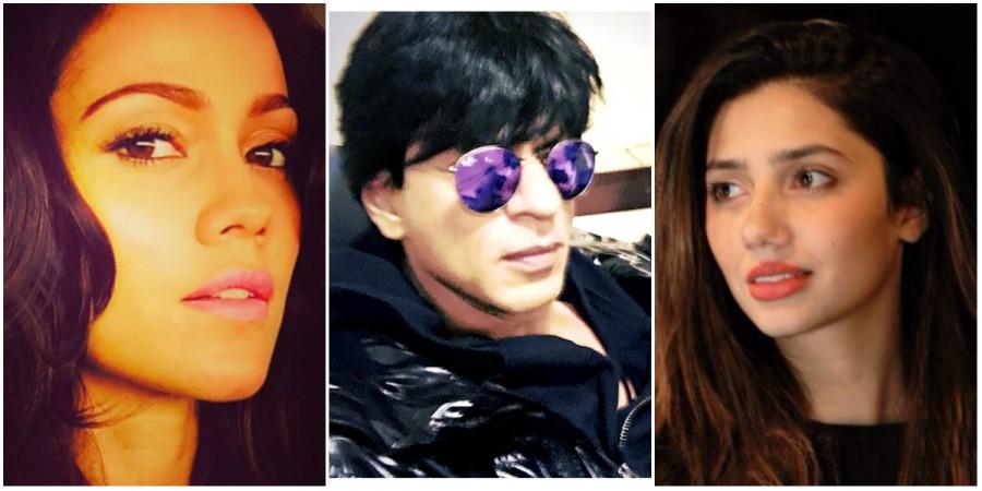 Waluscha De Sousa, Shah Rukh Khan, Mahira Khan