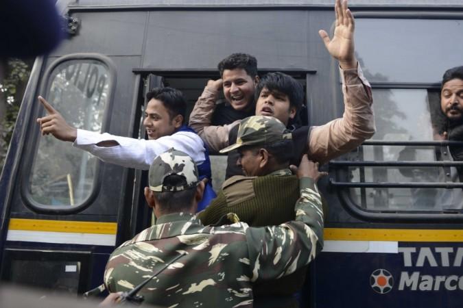 Rohith Vemula protest NSUI