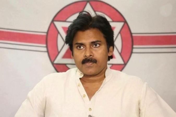 Power Star Pawan Kalyan addressing press conference