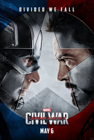 Captain America: Civil War will see the Avengers turning against each other.
