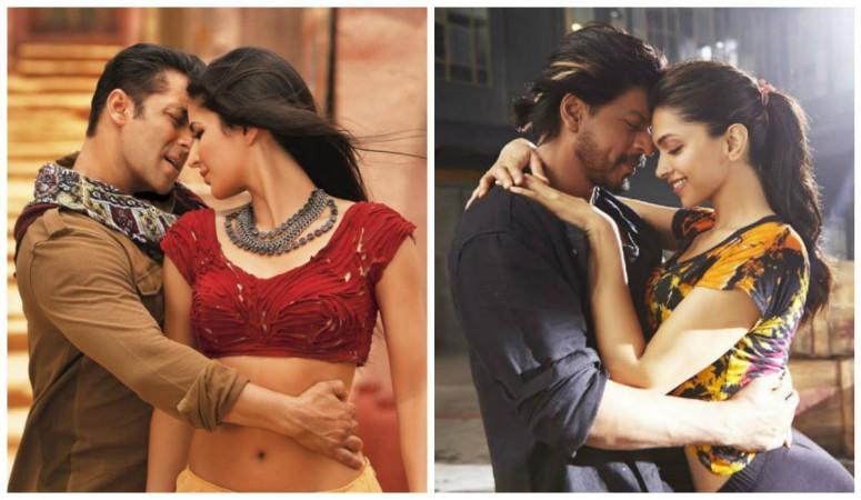Salman Khan, Katrina Kaif, Shah Rukh Khan and Deepika Padukone