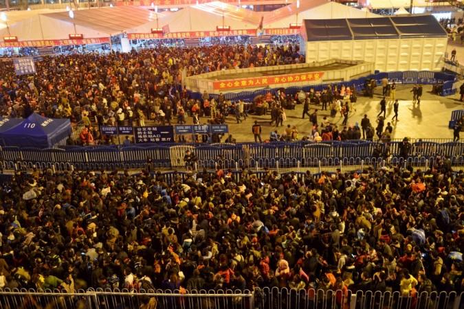 China spring rush