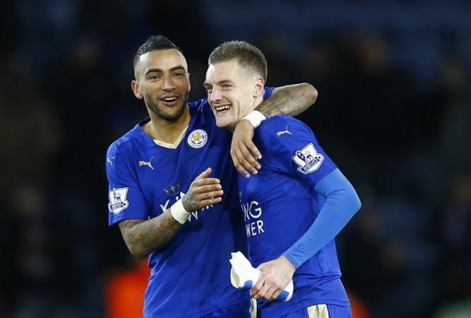 Jamie Vardy Simpson Leicester City