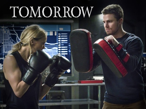 Oliver and Laurel training in