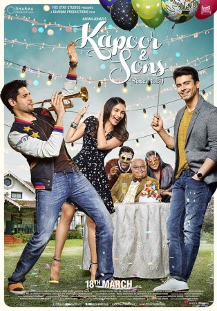 'Kapoor and Sons' first poster