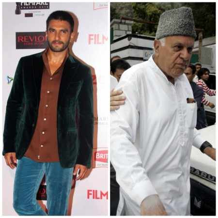 Ranveer Singh and Farooq Abdullah shakes a leg on 'Malhari' song