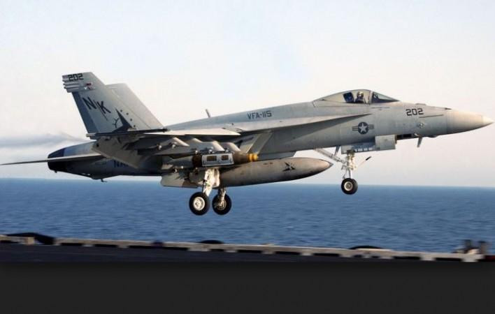 Boeing's F-18 fighter jet