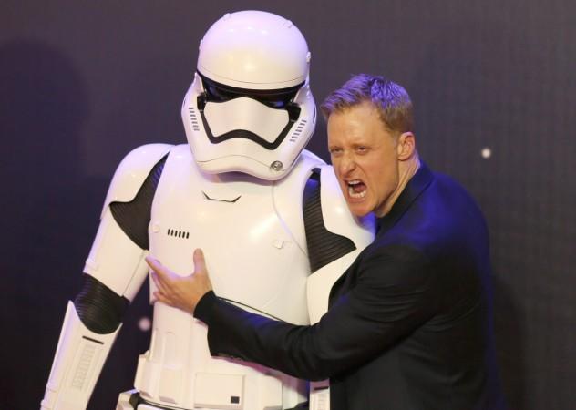 Alan Tudyk at the 'Star Wars VII' European premiere