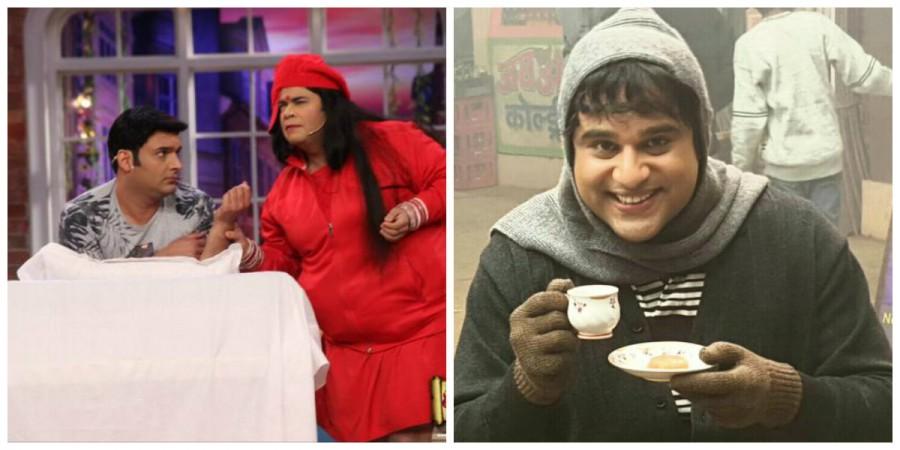 Kapil Sharma, Kiku Sharda and Krushna Abhishek