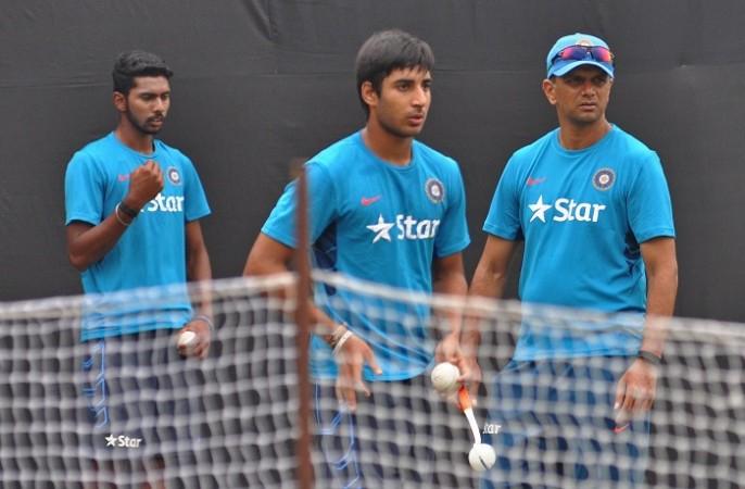 Rahul Dravid India U-19
