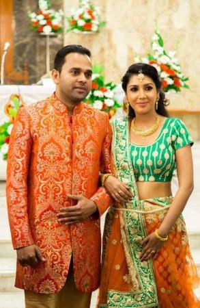 Rosin Jolly marries Sunil P Thomas