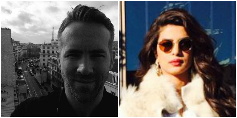Ryan Reynolds, Priyanka Chopra