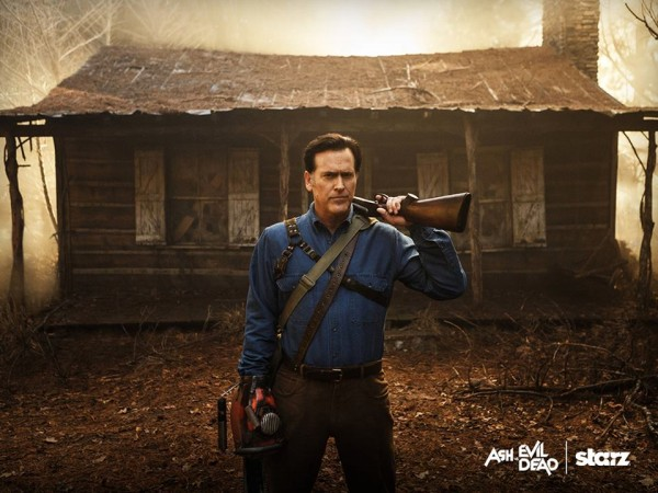 Bruce Campbell as Ash Williams in 'Ash vs Evil Dead'