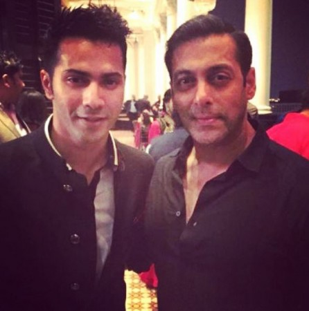 Salman Khan and Varun Dhawan
