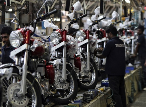 Royal Enfield plant near Chennai