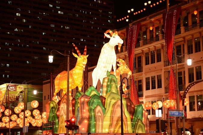 Parade in Singapore