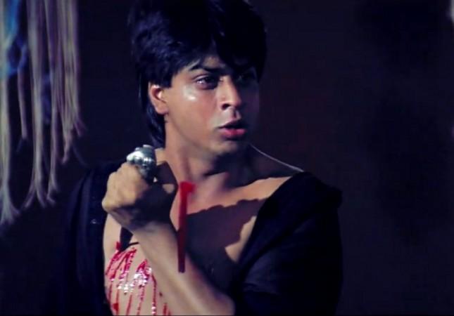 Shah Rukh Khan in 'Darr'