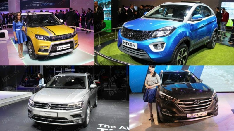 SUVs at Auto Expo 2016