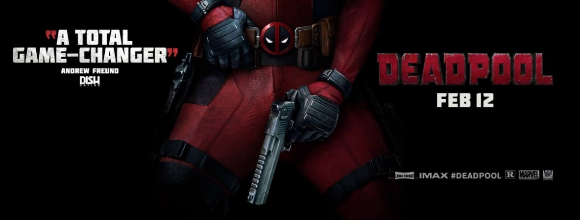"""Deadpool"" is releasing worldwide on 12 February."