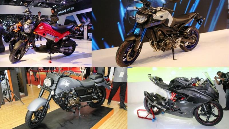 bikes at Auto Expo 2016