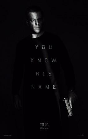 Jason Bourne teaser poster