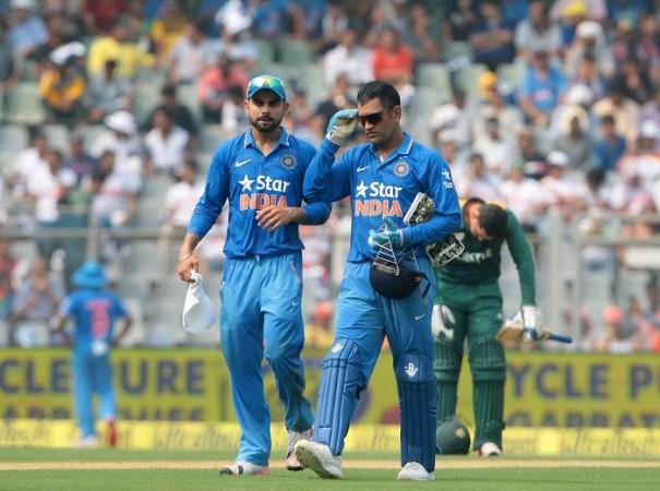 Virat Kohli MS Dhoni India