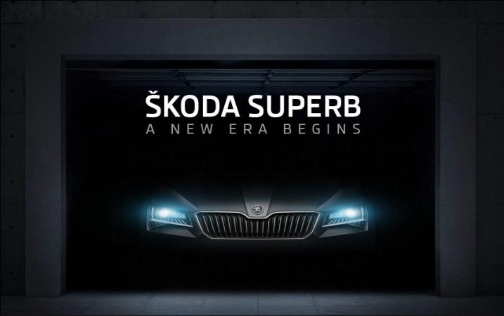 2016 Skoda Superb teaser