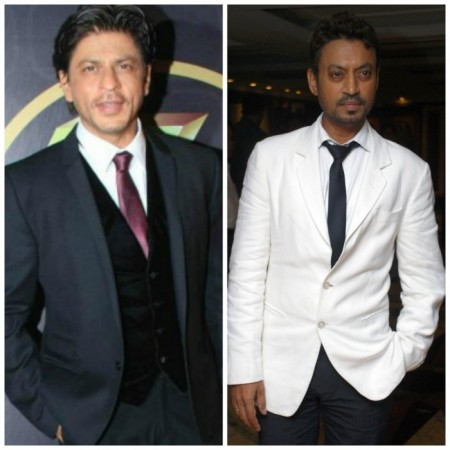 Irrfan Khan, Shah Rukh Khan face off at Filmfare Awards