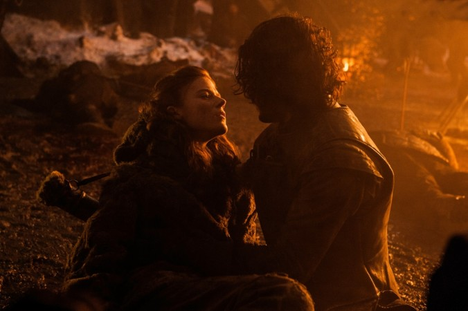 Ygritte dies in Jon Snow's arms in