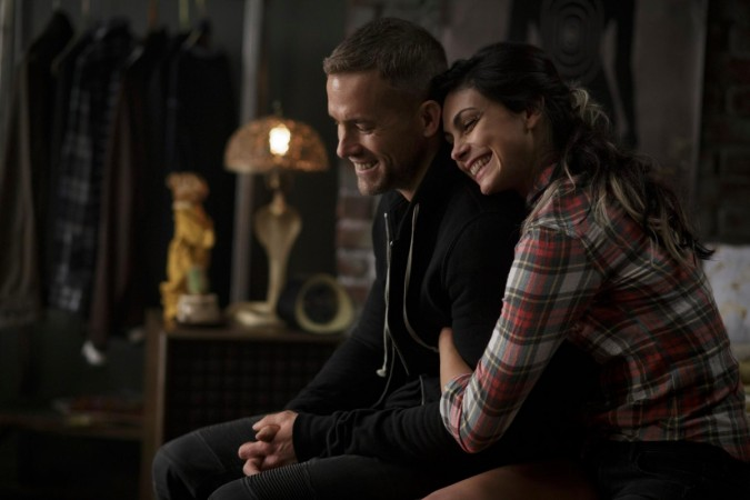 "Ryan Reynolds and Morena Baccarin from ""Deadpool"""