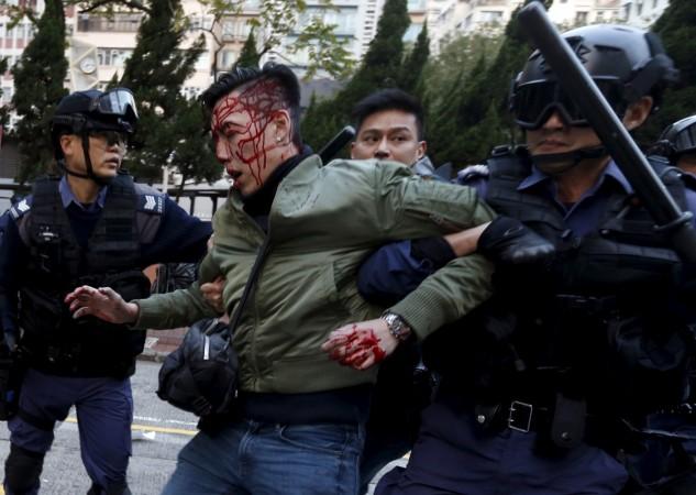 Mong Kok clashes Hong Kong