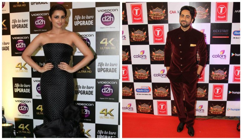 Parineeti Chopra and Ayushmann Khurrana
