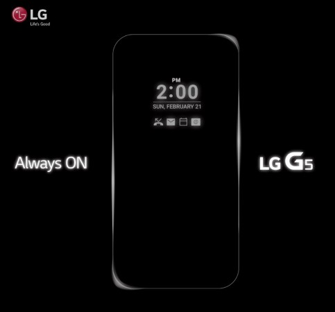 LG G5 GIF teaser released; Key display feature revealed