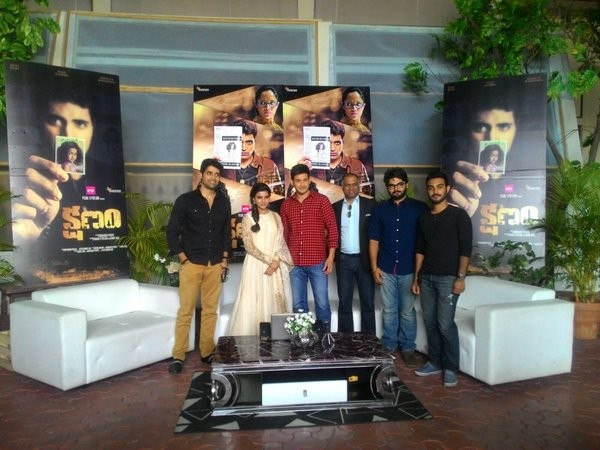 Mahesh Babu and Samantha at Kshanam trailer launch