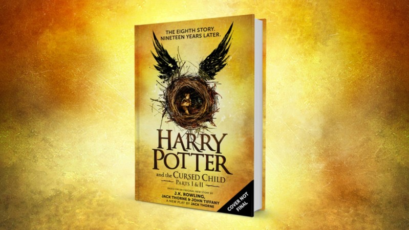 The teaser book cover of Harry Potter and the Cursed Child