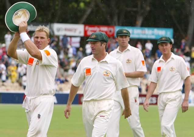 Steve Waugh Shane Warne Australia