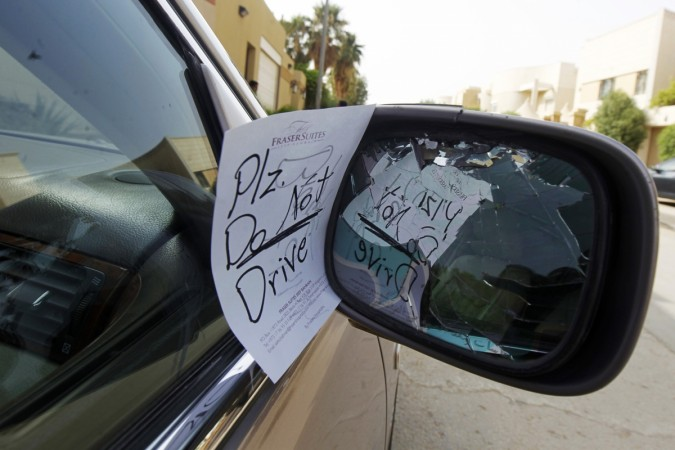 saudi arabia women driving ban