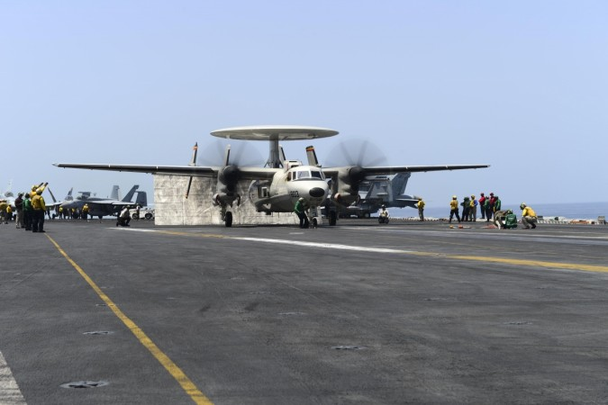 Advanced Hawkeye for INS Vishal